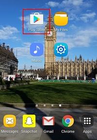 Open your app store