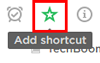 Add shortcuts to your notes