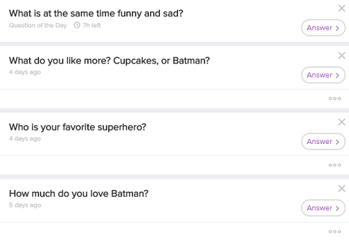 Answer Ask.fm questions