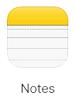 Apple Notes logo