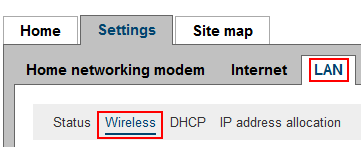 How to access the wireless settings of your WiFi router