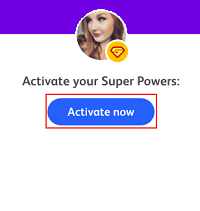 Activate Now button