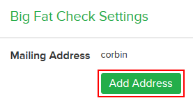 How to add your address to Ebates