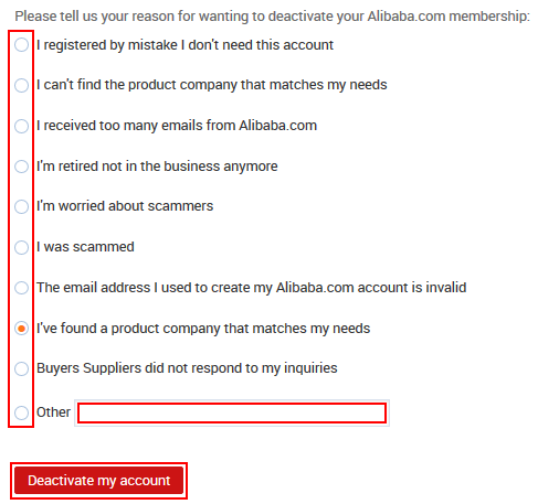 how to permanently delete aliexpress account
