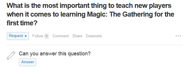 Tools for answering a question on Quora
