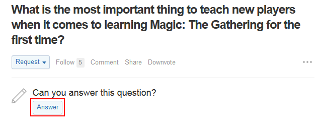 How to answer a question on Quora