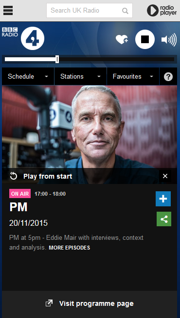 How to listen to live UK radio through the BBC iPlayer Radio app