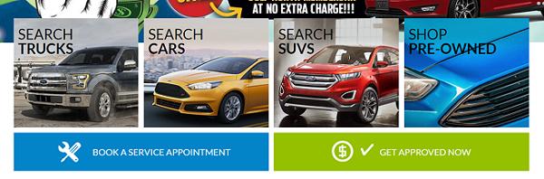 Car dealership website