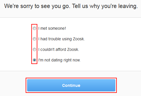 How to Delete a Zoosk Account -- Free Step-by-Step Tutorials