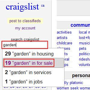 local craigslist type site