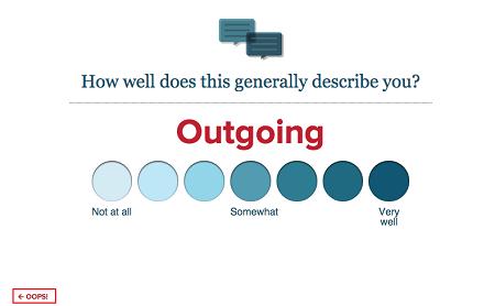 Correct eHarmony questionnaire answer