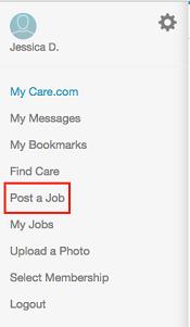 Post a job button