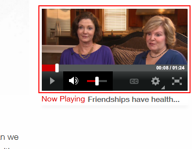 A CNN.com video accompaniment to an article
