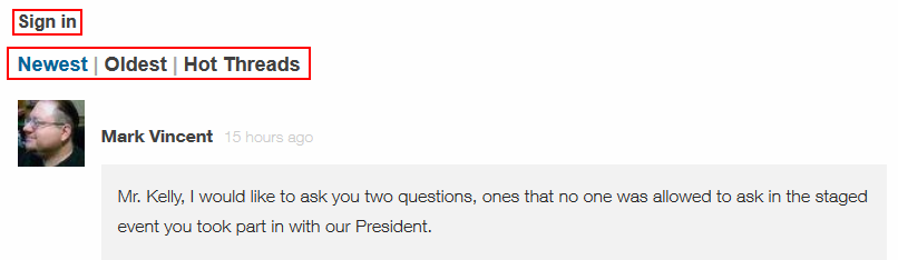 CNN.com article commenting options