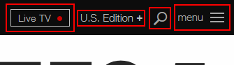 Additional CNN.com options