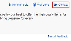 Contact eBay seller