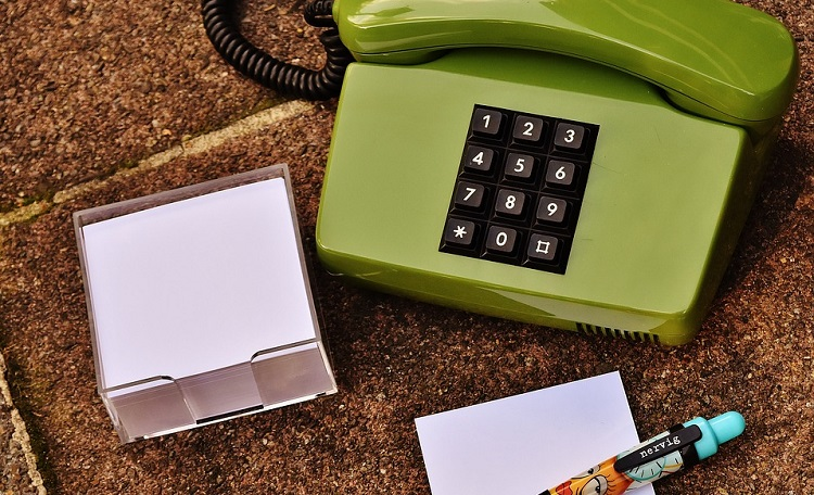 Telephone and message taking
