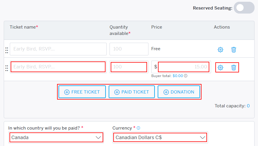 How to create tickets for an Eventbrite event