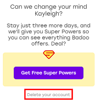 Choose not to accept free Super Powers