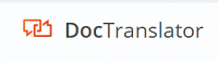 DocTranslator logo