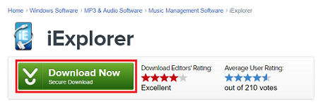 Download iExplorer