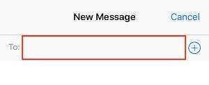 Enter contact information