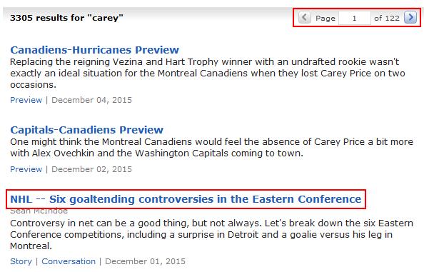 ESPN.com search results