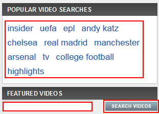 How to search for ESPN.com videos
