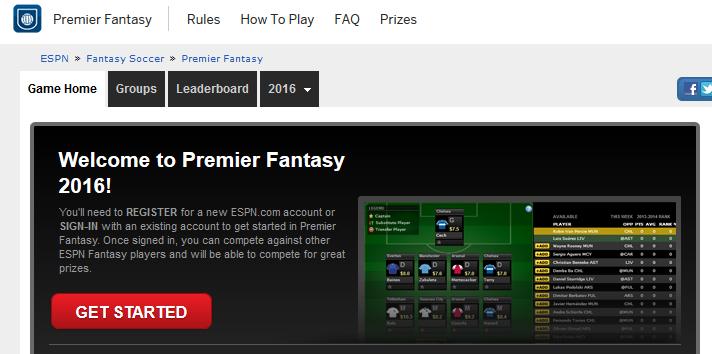 ESPN.com draft-style fantasy sports