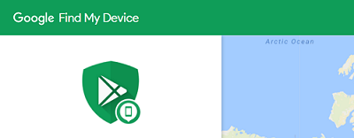 Find My Device website