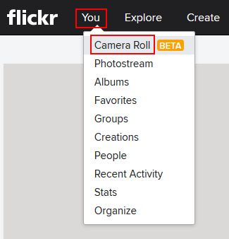 The Flickr Camera Roll