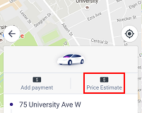 Lyft fare estimator