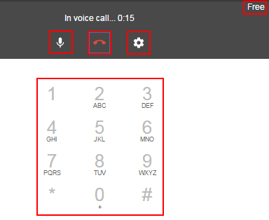 How to use the Google Hangouts phone call interface