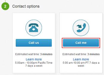 Have eBay customer service call you