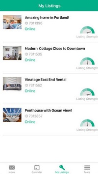 HolidayLettings app