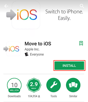 Move to iOS app