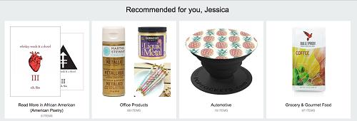 Make purchases on Amazon