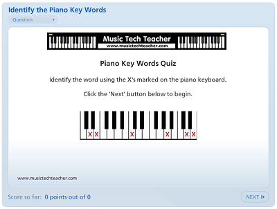 MusicTechTeacher quiz example