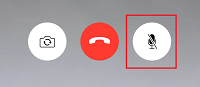 Mute and unmute button