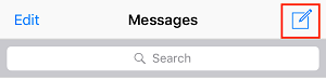New Conversation button