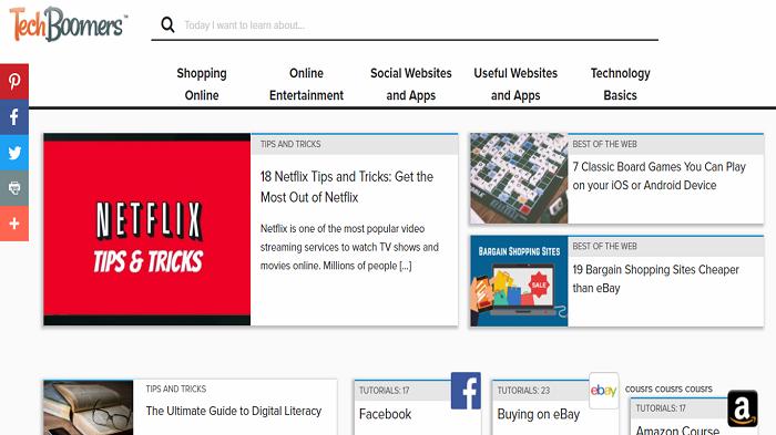 Sneak peek at new TechBoomers homepage