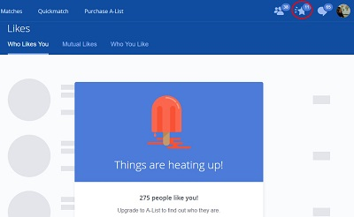 See who has liked your OkCupid profile