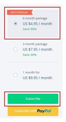 Choose from the OkCupid paid subscription plans