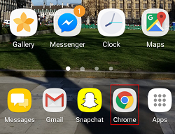 Google Chrome app icon