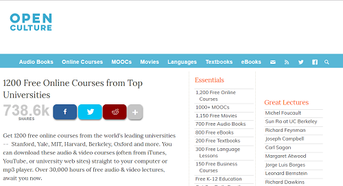 6 Websites to Take University Level Courses for Free