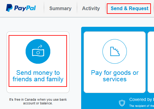 How To Send Money Through Paypal Free