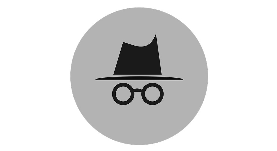 Incognito browsing symbol