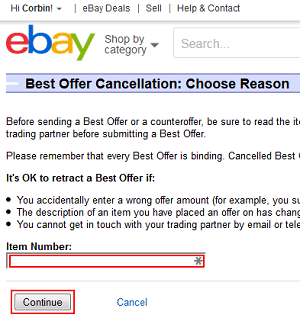 How To Make Or Retract A Best Offer On Ebay Techboomers