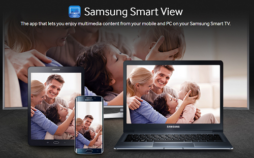 Samsung Smart View banner