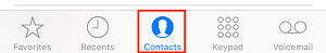 Select a contact